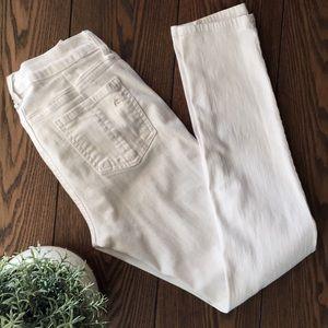 rag & bone skinny jeans BRIGHT WHITE soft denim